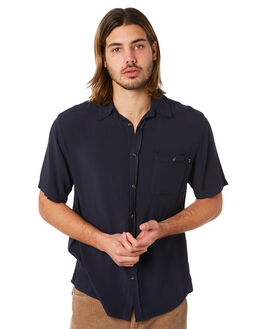 DARK SAPHIRE MENS CLOTHING RUSTY SHIRTS - WSM0834DRS