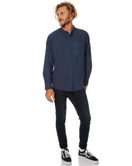 SULPHUR NAVY MENS CLOTHING ROLLAS SHIRTS - 201082715