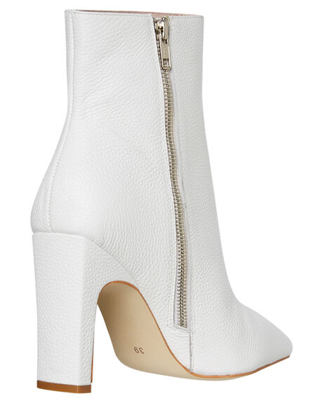 WHITE OUTLET WOMENS SOL SANA BOOTS - SS192W426WHT