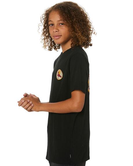 BLACK KIDS BOYS SWELL TOPS - S3213001BLK