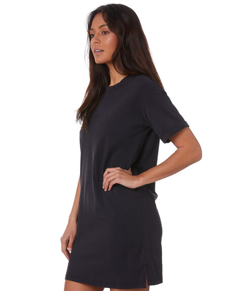 WASHED BLACK WOMENS CLOTHING ALL ABOUT EVE DRESSES - 6446013WBLK