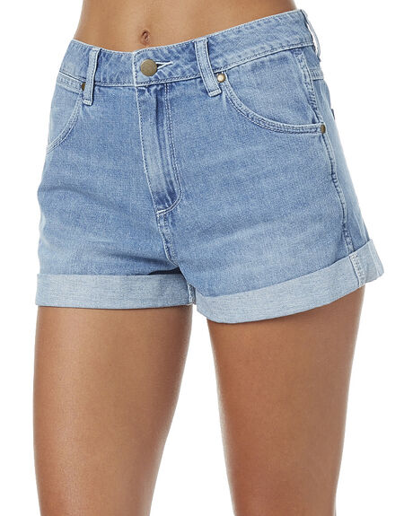 BABYLON BLUE WOMENS CLOTHING WRANGLER SHORTS - W-950614-Z54BAB