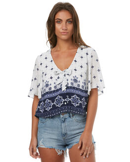 MULTI WOMENS CLOTHING SOMEDAYS LOVIN FASHION TOPS - SL1706404MULTI