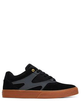 BLACK/GREY MENS FOOTWEAR DC SHOES SNEAKERS - ADYS300569-BLG
