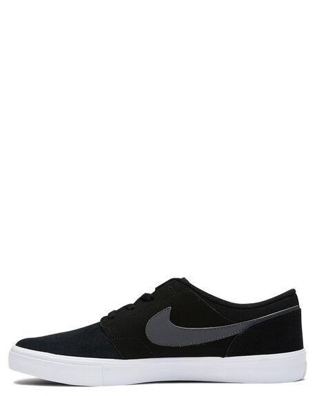 BLACK DK GREY WHITE MENS FOOTWEAR NIKE SNEAKERS - SS880266-001M