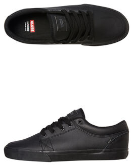 BLACK MENS FOOTWEAR GLOBE SNEAKERS - GBGS10053