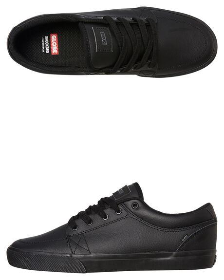 BLACK MENS FOOTWEAR GLOBE SNEAKERS - GBGS10053