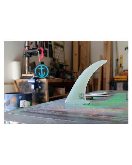 CLEAR BOARDSPORTS SURF CAPTAIN FIN CO. FINS - CFF0111505CLR