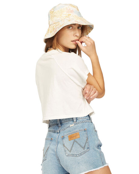 SALT CRYSTAL WOMENS CLOTHING BILLABONG TEES - 6513016-SCY