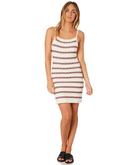 IVORY WITH NAVY WOMENS CLOTHING THE FIFTH LABEL DRESSES - 40181171-5IVO