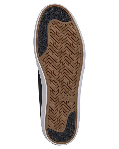 BLACK HEMP MENS FOOTWEAR GLOBE SKATE SHOES - GBGSCHUKKA-10515