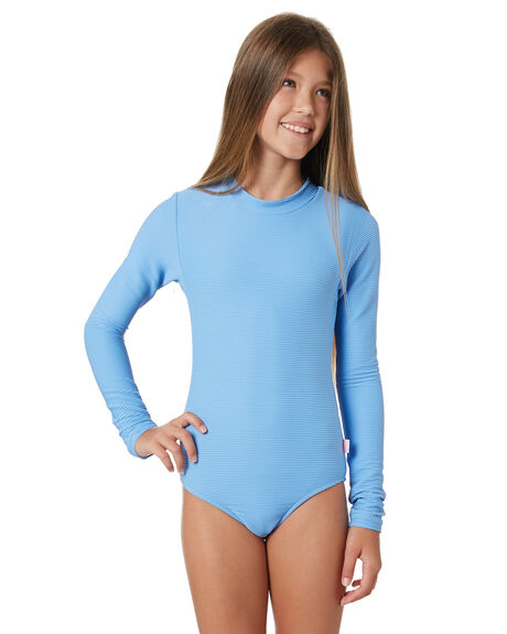 HERITAGE BLUE KIDS GIRLS SEAFOLLY SWIMWEAR - 15606-189HBL