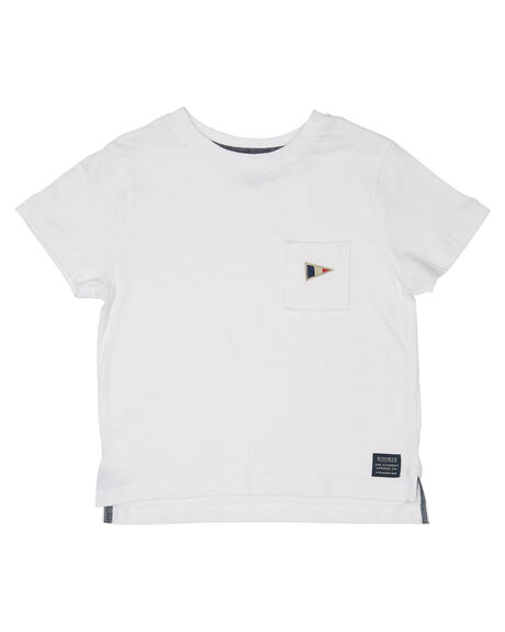 WHITE OUTLET KIDS ROOKIE BY THE ACADEMY BRAND CLOTHING - R19W411WHT