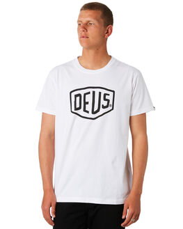 WHITE MENS CLOTHING DEUS EX MACHINA TEES - DMW41808EWHI