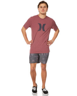 DUSTY MAHOGANY MENS CLOTHING HURLEY SHORTS - AMBSETNODSM