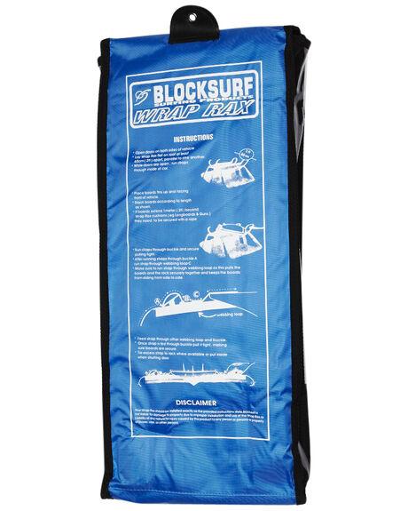 BLACK BOARDSPORTS SURF FK SURF BOARD RACKS - 1771BLK
