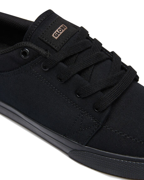 BLACK BLACK MENS FOOTWEAR GLOBE SKATE SHOES - GBGSBKBK