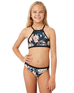 BLACK KIDS GIRLS RIP CURL SWIMWEAR - JSIEB10090
