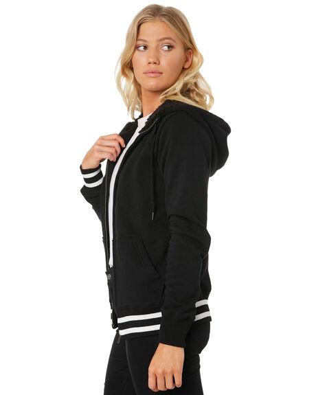 BLACK WOMENS CLOTHING VOLCOM JUMPERS - B3131714BLK