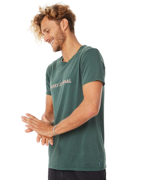 FOREST MENS CLOTHING BANKS TEES - WTS0281FOR