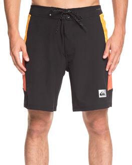 BLACK MENS CLOTHING QUIKSILVER BOARDSHORTS - EQYBS04112-KVJ0