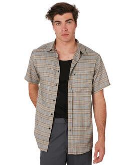 ORANGE TWEED MENS CLOTHING PASS PORT SHIRTS - PPWRKRORGTW