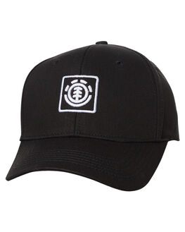 ALL BLACK MENS ACCESSORIES ELEMENT HEADWEAR - 164618AALBLK