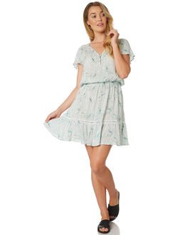GREEN WOMENS CLOTHING RIP CURL DRESSES - GDRHN10060