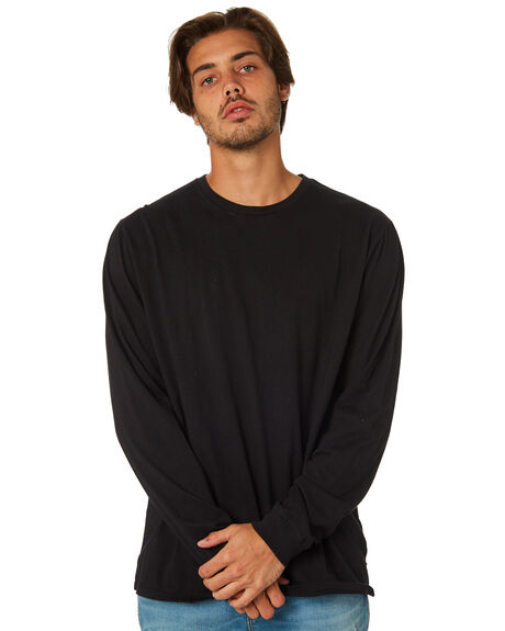 BLACK MENS CLOTHING SWELL TEES - S5164100BLK