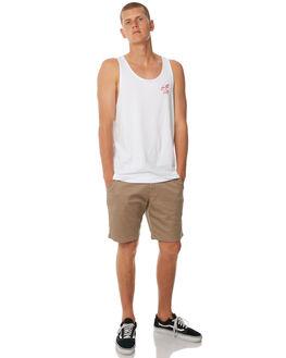 WHITE MENS CLOTHING SWELL SINGLETS - S5184273WHITE