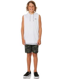 WHITE KIDS BOYS ST GOLIATH TOPS - 2421013WHT