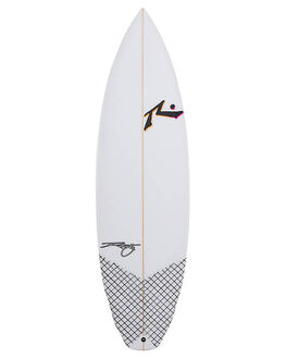 CLEAR BOARDSPORTS SURF RUSTY SURFBOARDS - RUGRIMRIPPERCLR