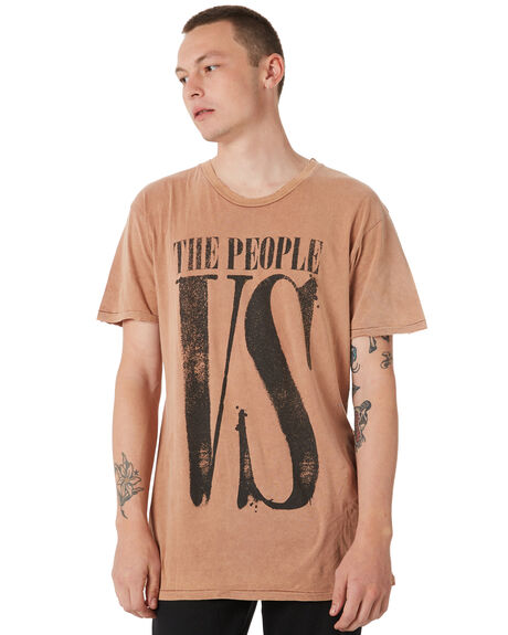 FIRE OUTLET MENS THE PEOPLE VS TEES - W18010FF