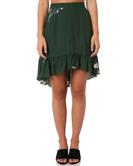MUSTANG GREEN WOMENS CLOTHING RUE STIIC SKIRTS - SA19-20-BMG