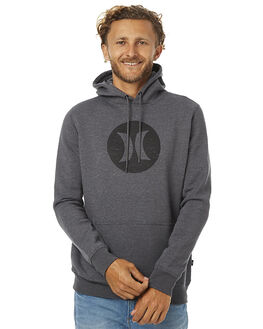 HEATHER GRAPHITE MENS CLOTHING HURLEY JUMPERS - AMFLICPU