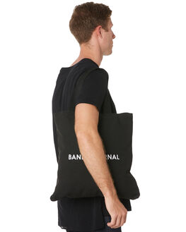 BLACK MENS ACCESSORIES BANKS BAGS + BACKPACKS - BA0002BLK