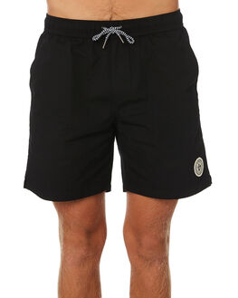 BLACK ACID WASH MENS CLOTHING IMPERIAL MOTION BOARDSHORTS - 201901007015BKAC