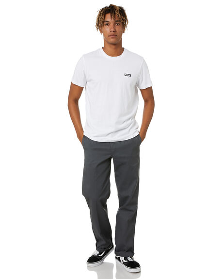 WHITE MENS CLOTHING GLOBE TEES - GB02130000WHT