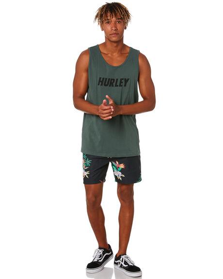 BLACK MENS CLOTHING HURLEY BOARDSHORTS - CV0349010