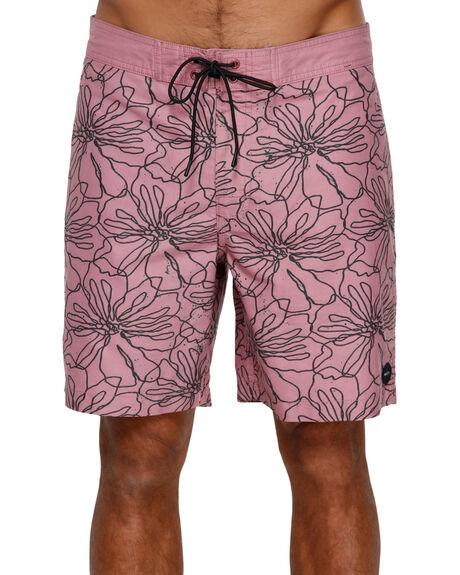 DUSTY ROSE MENS CLOTHING RVCA BOARDSHORTS - RV-R391410-DU4