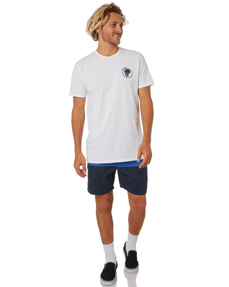 WHITE MENS CLOTHING SWELL TEES - S5202016WHITE