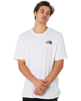 WHITE CAMO MENS CLOTHING THE NORTH FACE TEES - NF00CA0FBB1