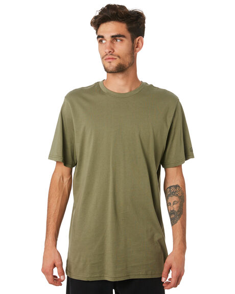ARMY GREEN COMBO MENS CLOTHING VOLCOM TEES - A5011530ARC