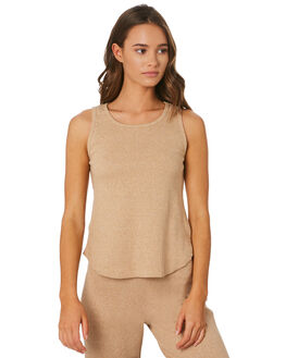 SAND WOMENS CLOTHING ZULU AND ZEPHYR SINGLETS - ZZ2544SND