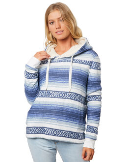 BLUE WOMENS CLOTHING BILLABONG JUMPERS - 6595757BLU