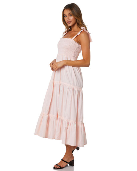 LIGHT PINK WOMENS CLOTHING RUE STIIC DRESSES - AS-20-16-1-LP-ASLP