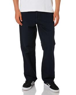 DARK NAVY MENS CLOTHING CARHARTT PANTS - I026463-1CDNVY
