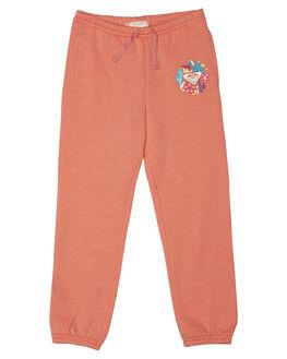 SUGAR CORAL HEATHER KIDS TODDLER GIRLS ROXY PANTS - ERLFB03034MJJH