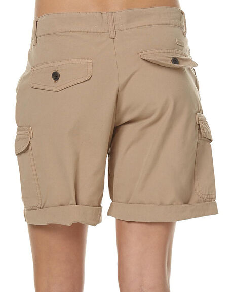 CAMEL WOMENS CLOTHING SWELL SHORTS - SW160113CAM