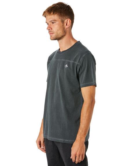 MERCH BLACK MENS CLOTHING THRILLS TEES - TS8-140MBMCBLK
